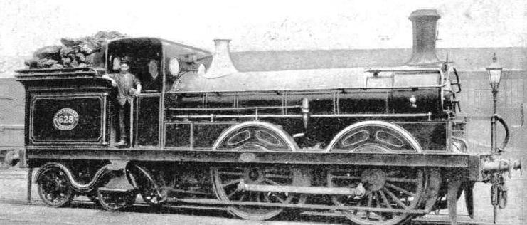 An early Great Northern Tank designed by Patrick Stirling