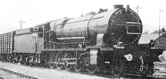 A 2-10-0 LOCOMOTIVE used for traffic on the Great Indian Peninsula Railway