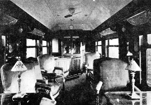 Buffet Car of the Continental Express, South Eastern & Chatham Railway