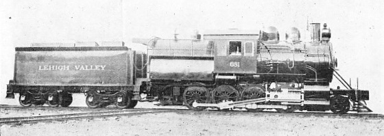 """CONSOLIDATION"" LOCOMOTIVE, BUILT FOR THE LEHIGH VALLEY RAILROAD, 1898"