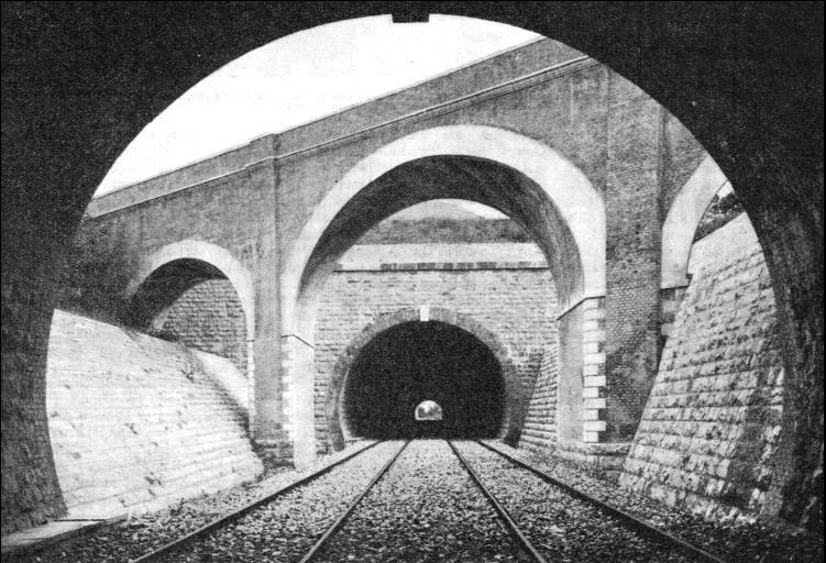 The Carmeto Tunnel on the Bologna-Florence route