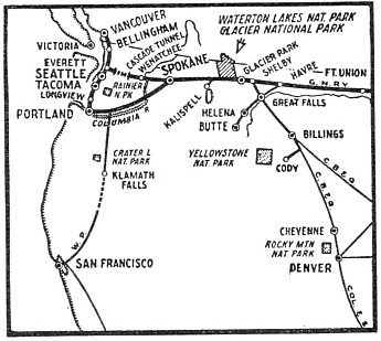 A VITAL LINK between the Pacific ports and the Eastern States is provided by the Cascade Tunnel
