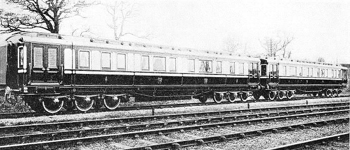 the two LMS royal saloons used by the present King and Queen