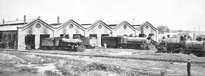 ENGINE SHEDS of the Cordoba Central Railway at Alta Cordoba
