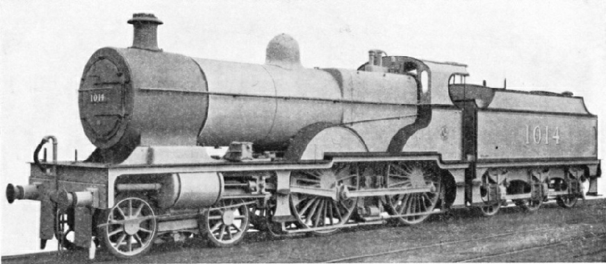 4-4-0 compound express engine designed by R M Deeley