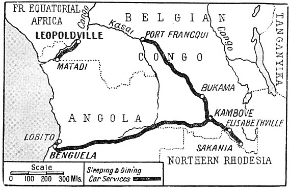 PORTUGUESE WEST AFRICA (Angola) and the Belgian Congo
