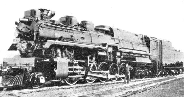 CANADIAN PACIFIC LOCOMOTIVE, No. 8000