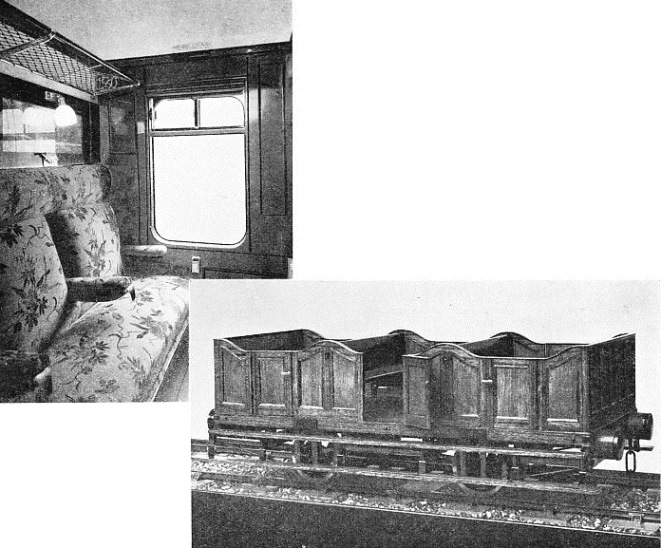 The railway carriage