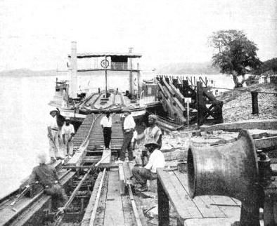 ANOTHER VIEW of the slipway on the northern extension of the Lagos Railway