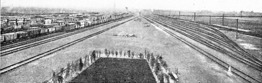 THE GREAT SOUTHERN RAILWAY SORTING SIDINGS AT FELTHAM