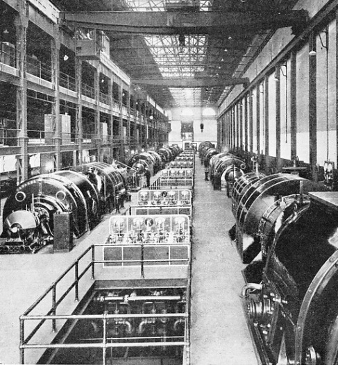 the Generator Room at Lots Road Power Station