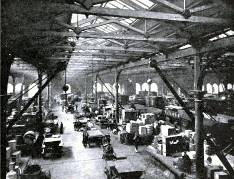 An Important Goods Station, Hull, North Eastern Railway
