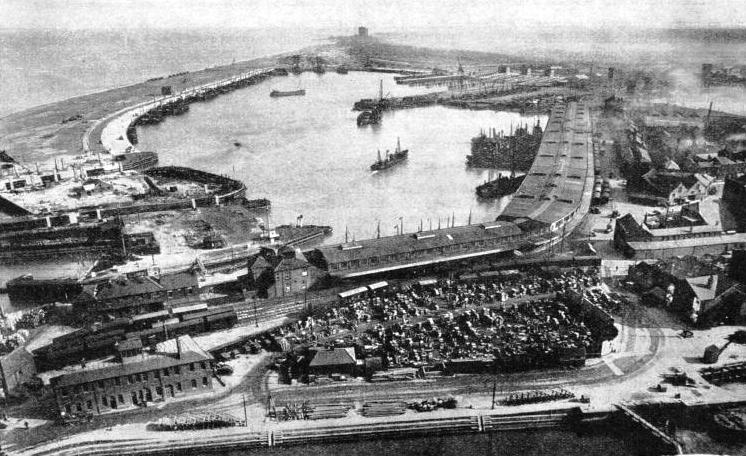 The fish docks at Grimsby