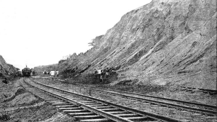 A CUTTING ON THE GOLD COAST RAILWAY