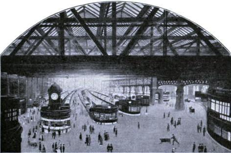 CENTRAL STATION, GLASGOW, Caledonian Railway