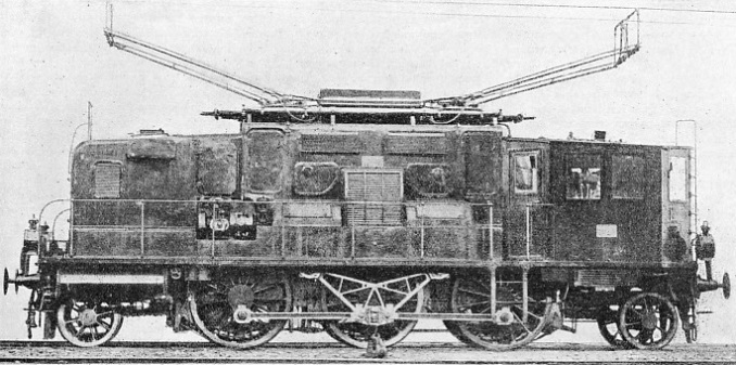 An Italian Electric Locomotive