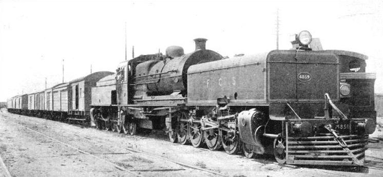 """Beyer Garratt"" employed on the lines of the Buenos Aires Great Southern Railway"