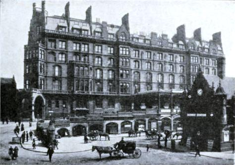 St. Enoch Station and Hotel, Glasgow, Glasgow & South Western Railway