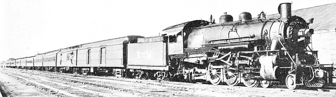 TRAIN No. 1. The through express from Mexico City to Laredo, Texas