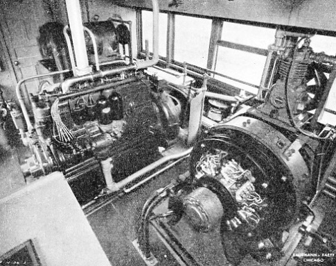 THE ENGINE ROOM in which the current is generated for the work of detection