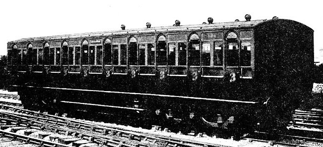 A new Third-class Carriage, Great Eastern Railway