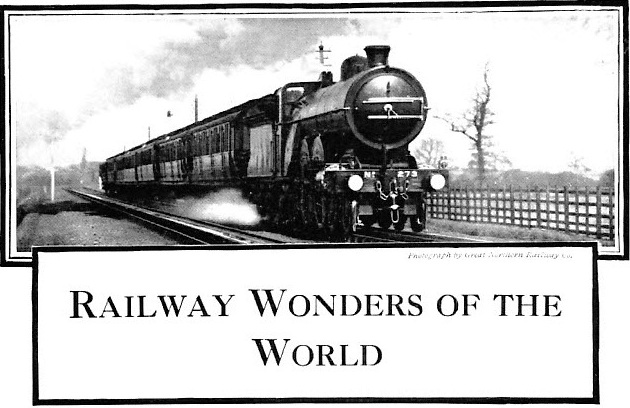 F W Talbot Railway Wonders of the World Articles