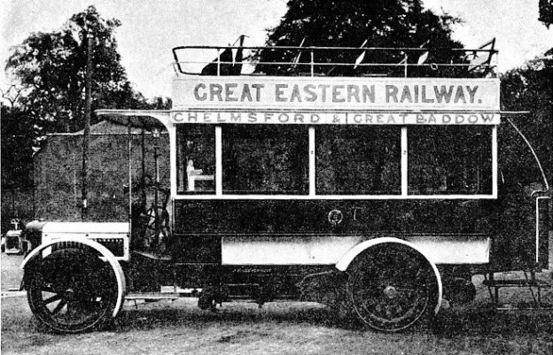 The Great Baddow Motor-Bus, Great Eastern Railway