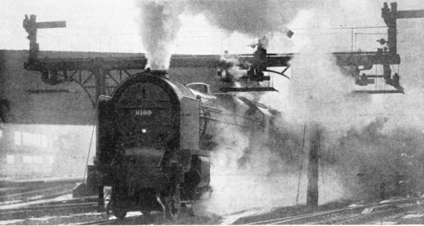 The Royal Scot starts from Euston