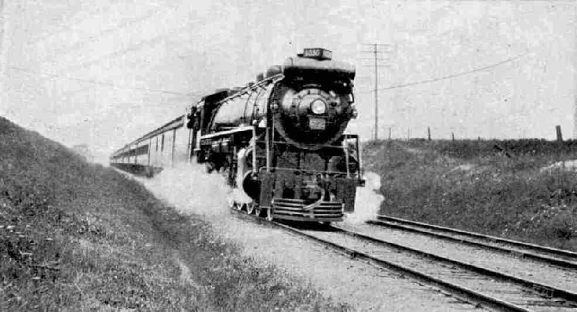 The International Limited at full speed