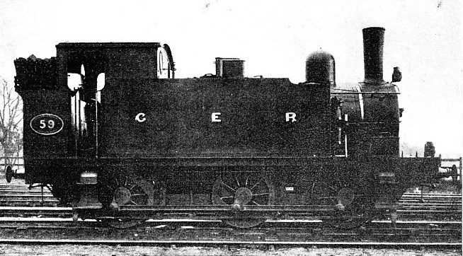 Great Eastern Railway tank engine no 59