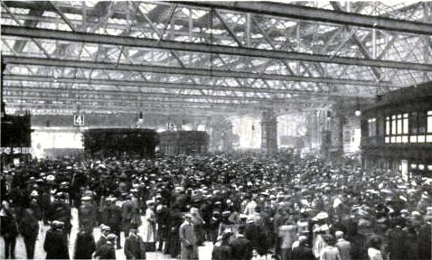 GLASGOW CENTRAL STATION, Caledonian Railway