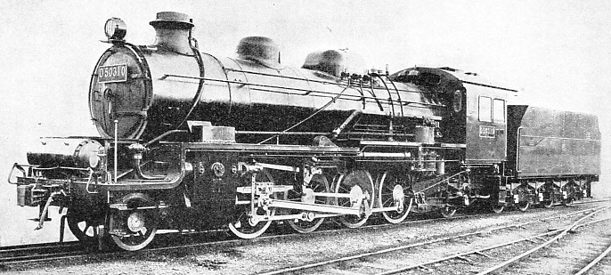 One of the latest type of engines used on the Japanese main lines