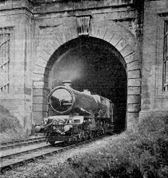 Bristol Two-hour Express emerging from Box Tunnel