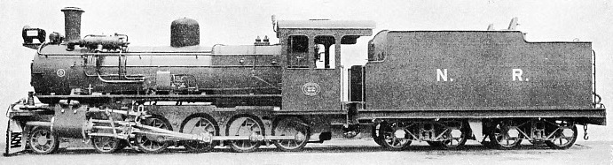 4-8-0 LOCOMOTIVE built by the North British Locomotive Co for the Nyasaland Railways