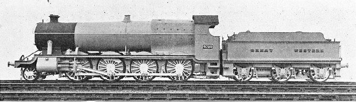 "GREAT WESTERN ""CONSOLIDATION"" (2-8-0) TYPE, BUILT 1919"