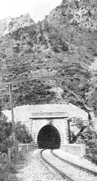 CAGNOLINA TUNNEL, between San Dalmazzo and Cuneo