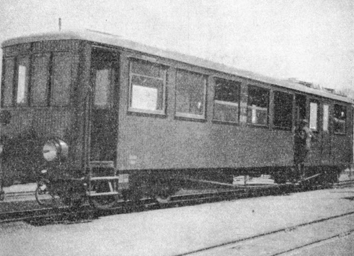 One of the Diesel-driven rail-cars owned by the State lines of Estonia