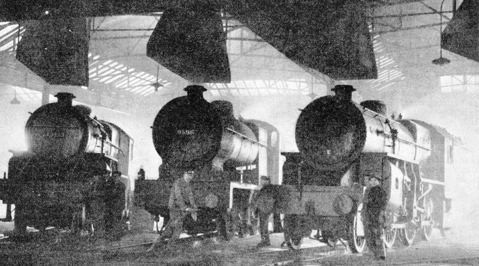 In the engine shed at Willesden