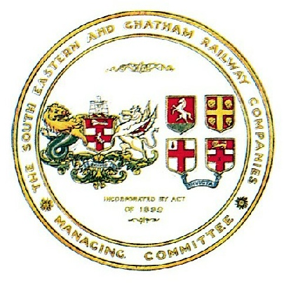South Eastern & Chatham Railway coat of arms