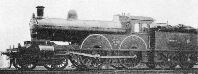 Engine No. 1619 of the North Eastern Railway