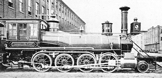 "THE FIRST ""CONSOLIDATION"" (2-8-0) BUILT IN 1866"