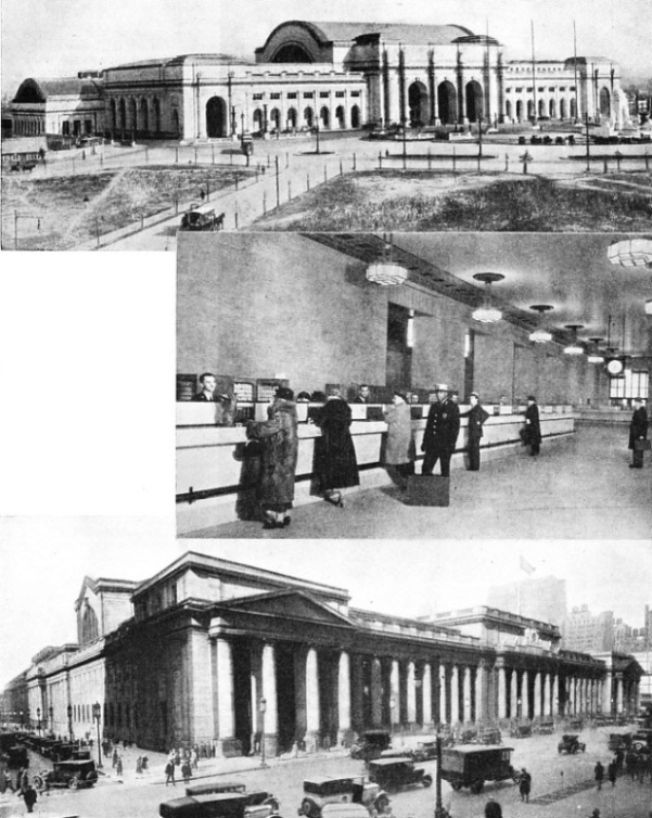 Stations on the Pennsylvania Railroad