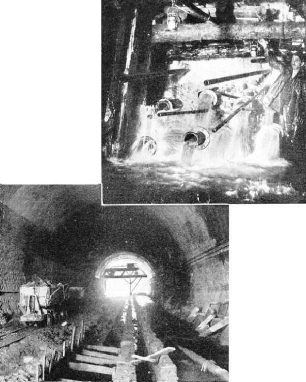 The great Apennine tunnel