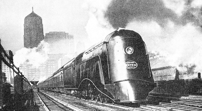 "The ""Commodore Vanderbilt"" is one of the famous ""Hudson"" (4-6-4) type express locomotives of the New York Central"