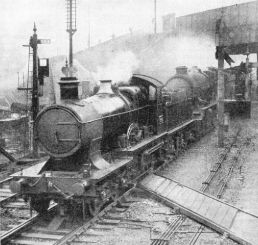 "The ""Cornish Riviera Express"" double-headed approaching Plymouth"