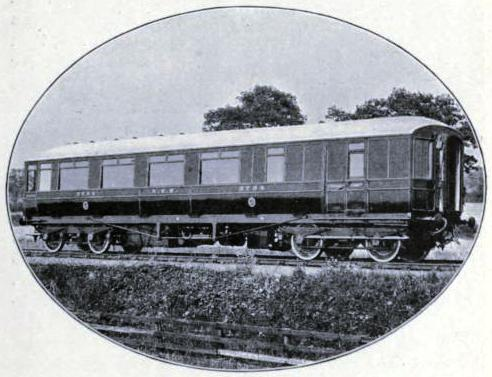 First-class Corridor Brake No. 3754, North Eastern Railway