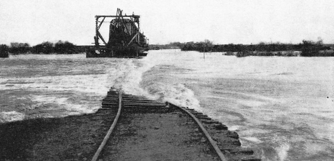 "A ""wash-out"" on the lines of the Uruguay Central early in 1914"