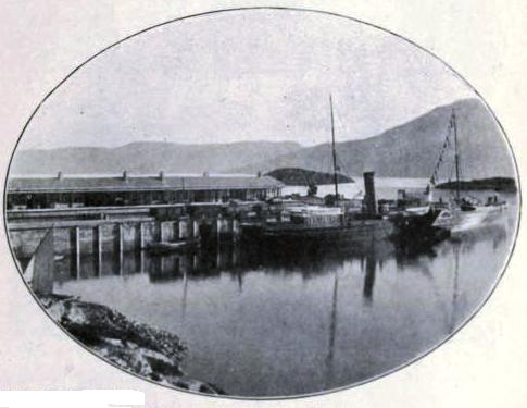 STATION AND PIER, KYLE OF LOCHALSH, Highland Railway