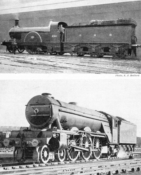 Notable locomotives of the LNER and its predecessors