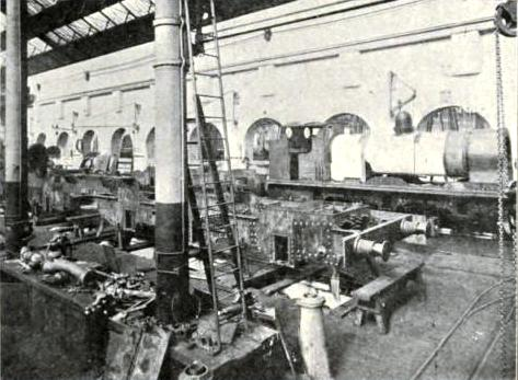 ENGINE-BUILDING AT ST. ROLLOX, Caledonian Railway